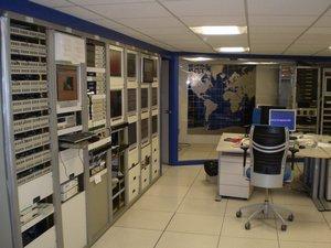 Sala de enlaces Agencia EFE