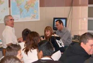 2008_01_18 La radioafición llega a los estudiantes del sur de Tenerife