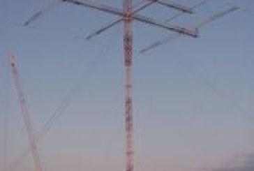 La antena  más grande para 160 metros se ha montado en OH8X