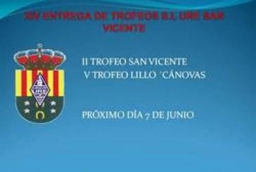 Entrega de premios 2º Trofeo San Vicente