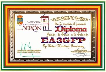 Diploma Jamón de Serón