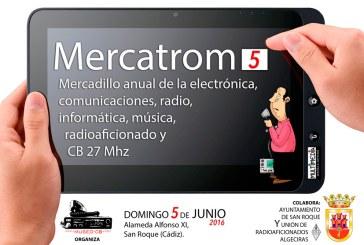 Mercatrom 5, el mercadillo de la Electrónica y radioaficionado