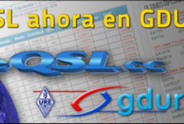 eQSL ahora en GDURE