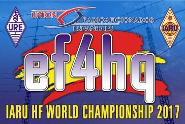 URE Campeón del mundo en IARU HF World Championship 2017