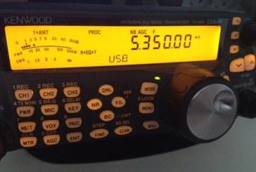 Sudáfrica obtiene 100 kHz en los 60 m.