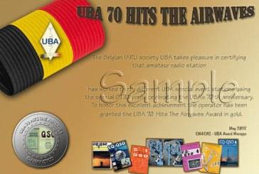 UBA 70 en el aire