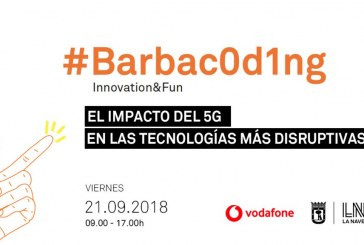 Evento Barbac0d1ng 5G en espacio La Nave (Madrid)