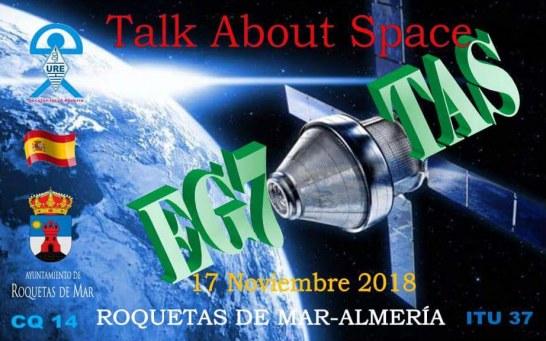 """EG7TAS """"Talk About Space"""""""