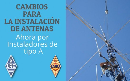 Certificación de estaciones fijas de radioaficionados por instaladores tipo A