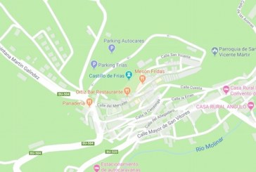 Activación DME 09134 de Frias norte de Burgos