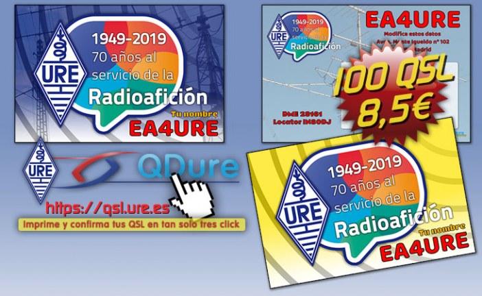 QSL Especial Aniversario de URE