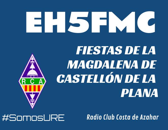 EH5FMC, Fiestas de Castellón de la Plana