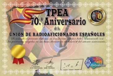 Diploma TPEA Especial 70 Aniversario
