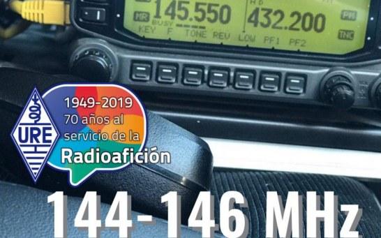 Posición banda 144-146 MHz