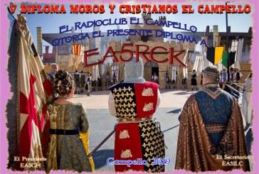 V Diploma de Moros y Cristianos de El Campello