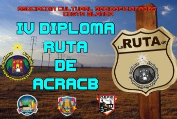 IV Diploma Ruta ACRACB