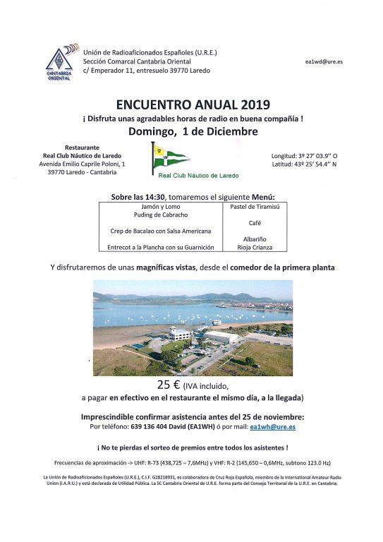 Comida Anual URE Cantabria Oriental