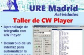 Taller de CW Player en S.L. URE Madrid