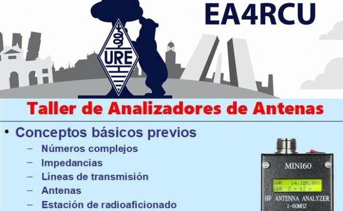 Taller de Analizadores de Antenas en S.L. URE Madrid