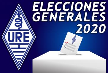 Elecciones generales URE 2020