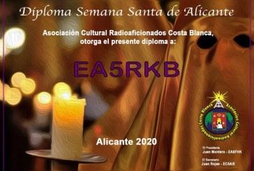 II Diploma Semana Santa Alicante 2020