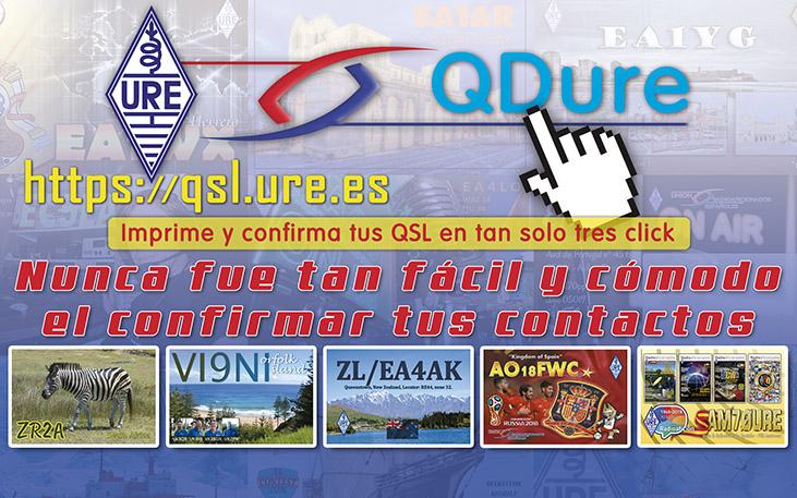 QDURE – Imprime y confirma tus QSL