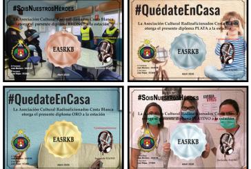 Diploma #yomequedoencasa  Haciendo Radio – ACRACB