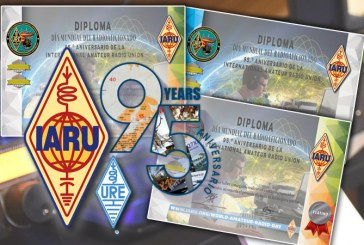 Diploma 95 Aniversario de la IARU