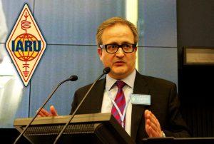 Presidente de la IARU, Tim Ellam, VE6SH