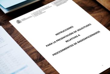 Actualización de los procedimientos ante la Sede Electrónica de Radioaficionados