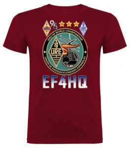 Camiseta EF4HQ - IARU HF World Championship 2020