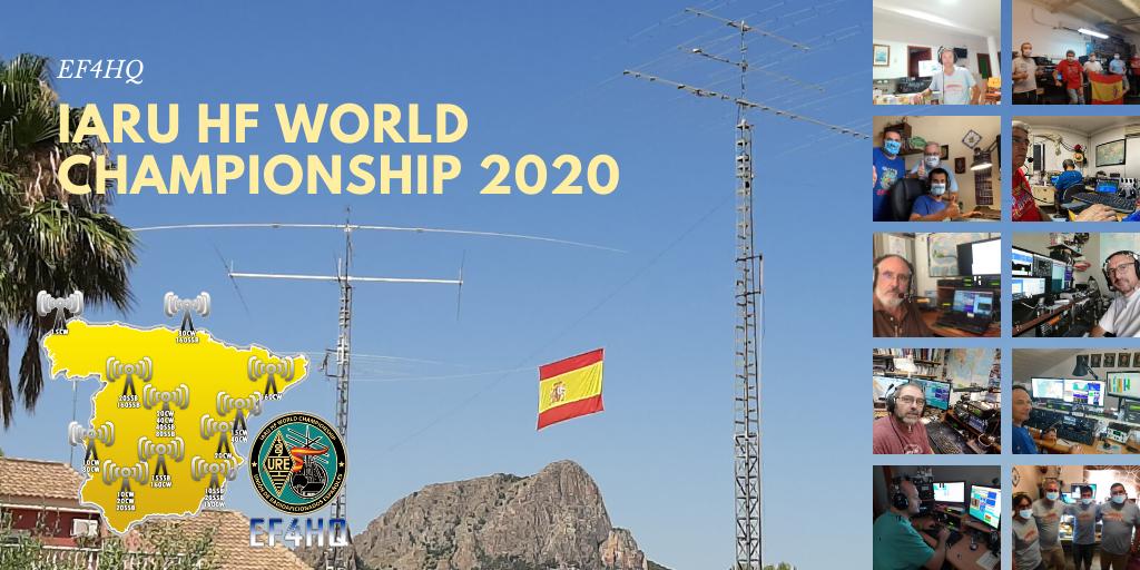 EF4HQ – Resultado IARU HF World Championship 2020