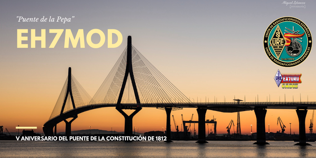 V Aniversario de la inauguración del puente de la Constitución de 1812