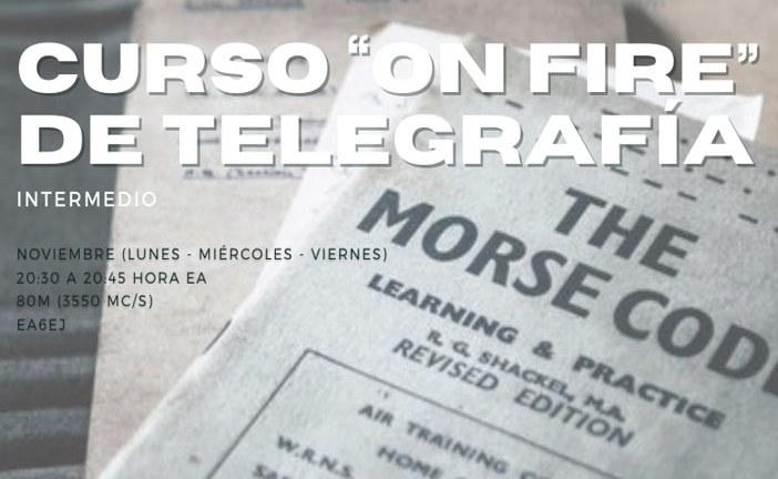 Curso de Telegrafía intermedio por EA6EJ