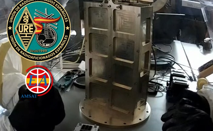 Integrados en Atenas los satélites GÉNESIS de AMSAT-EA