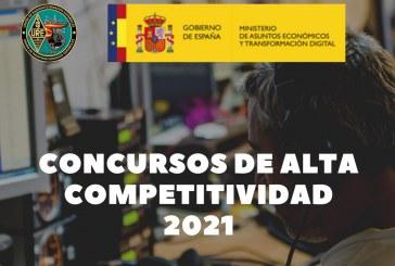 Concursos alta competitividad 2021