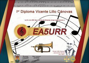 Diploma Vicente Lillo Cánovas