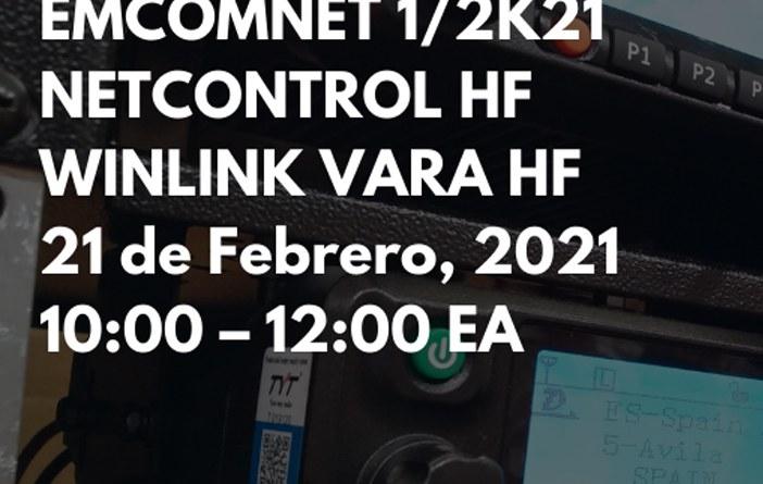 Ejercicio de comunicaciones de emergencias EMCOMNET 1/2021