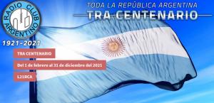 L21RCA - Radio Club Argentino cumple 100 años