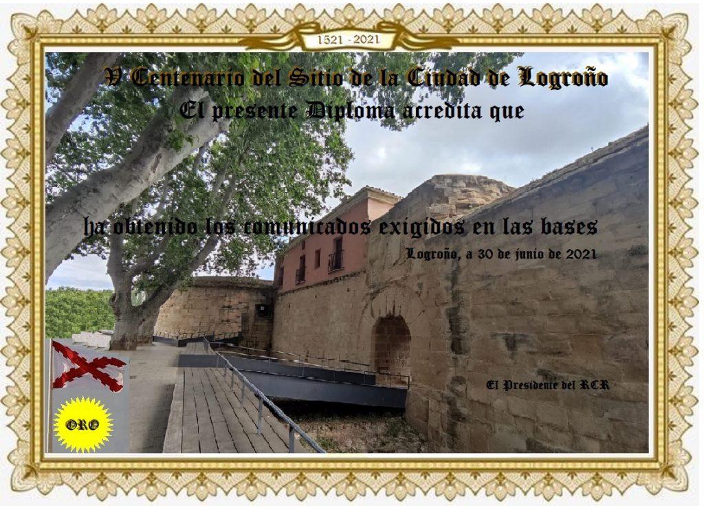 EG1VCL - Quinto Centenario del sitio ciudad de Logroño