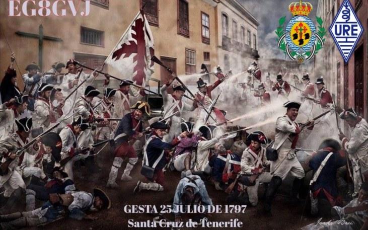 La Gesta 25 de julio de 1797, URE Valle de Güímar