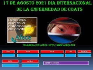 Día internacional de la enfermedad de Coats - EB1CU