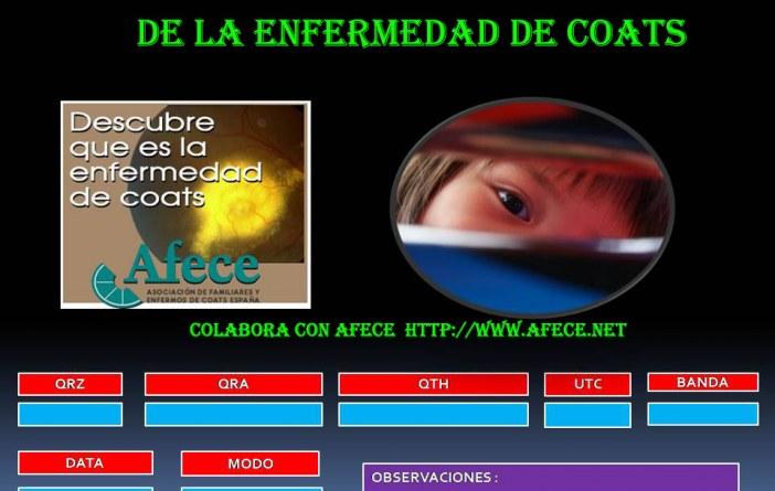 Día internacional de la enfermedad de Coats – EB1CU