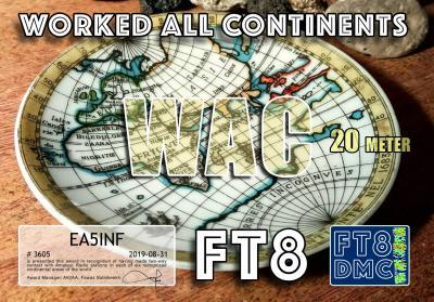 EA5INF WAC 20M
