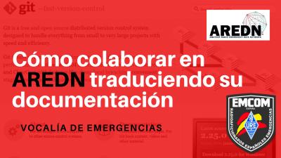 Cómo colaborar en AREDN traduciendo su documentación