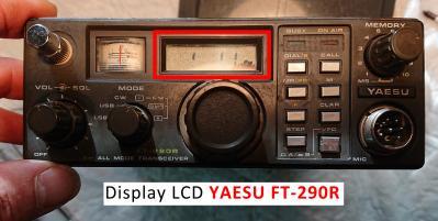 FT 290R LCD