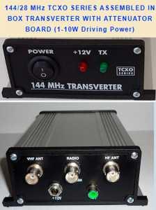 3 Transverters UT5JCW