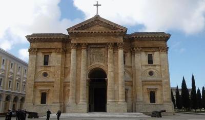 fachada principal del panteon MI