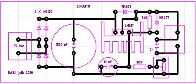 fuente circuito