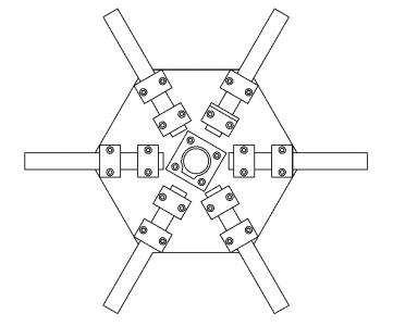 placa central